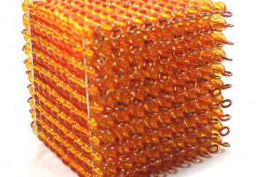cubo de perlas 1000 montessori