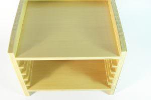 estante para puzzles montessori